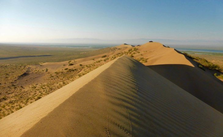 Singing Dune in kazakhstan Tour