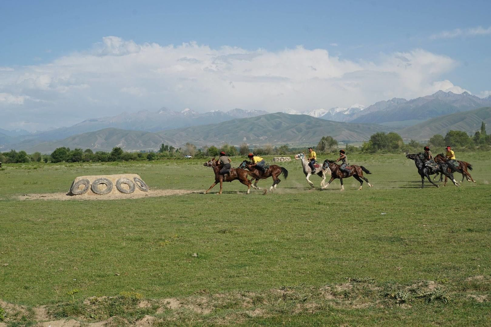 active tour horse riding and horse games in kyrgyzstan, central asia travel