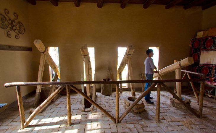 samarkand paper making handicraft