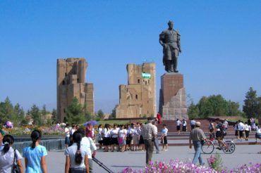 Amir Timur Statue - Uzbekistan location