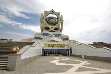 Ashgabat bagt koshgi wedding palace - Turkmenistan