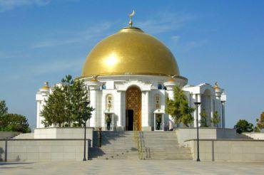 Ashgabat niyazov mausoleum - Turkmenistan