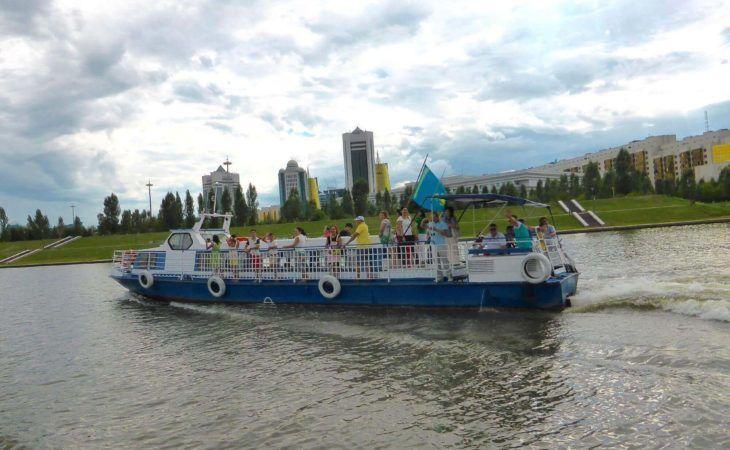 Astana Ishim River