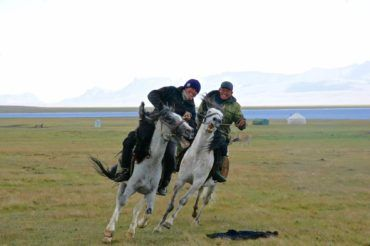 Horse games in Kyrgyzstan tour, central asia travel