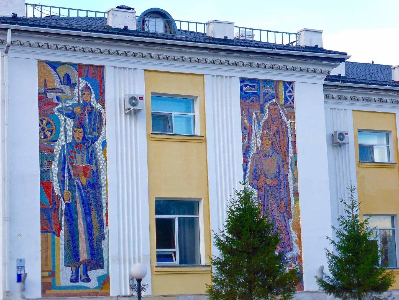 Astana, Soviet architecture