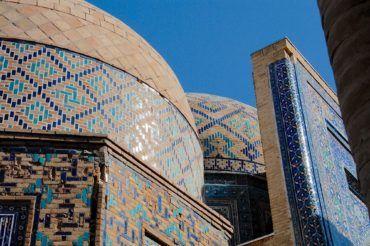 Samarkand Timurid architecture design - Uzbekistan, silk road travel