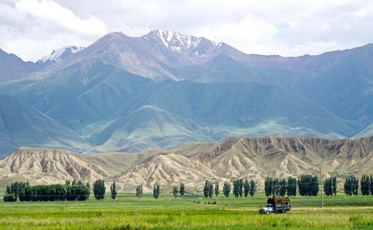 Kyrgyzstan village