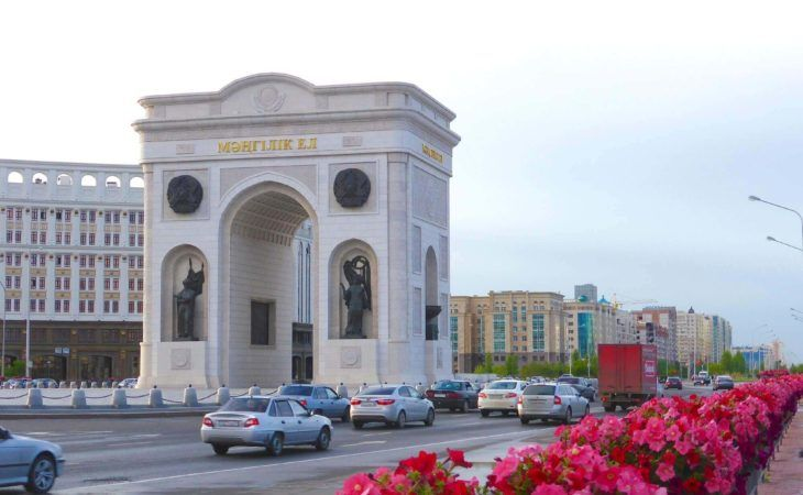 Astana-Kazakhstan tour-Triumph Arc