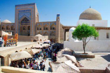 Khiva bazaar - Uzbekistan, UNESCO World Heritage site