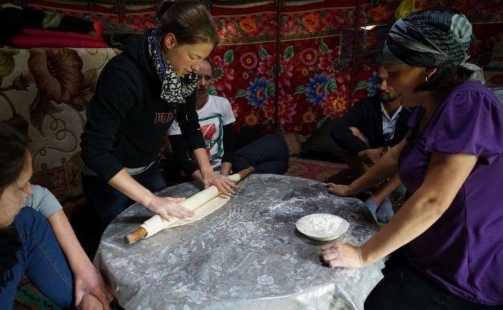 making national food in kyrgyzstan