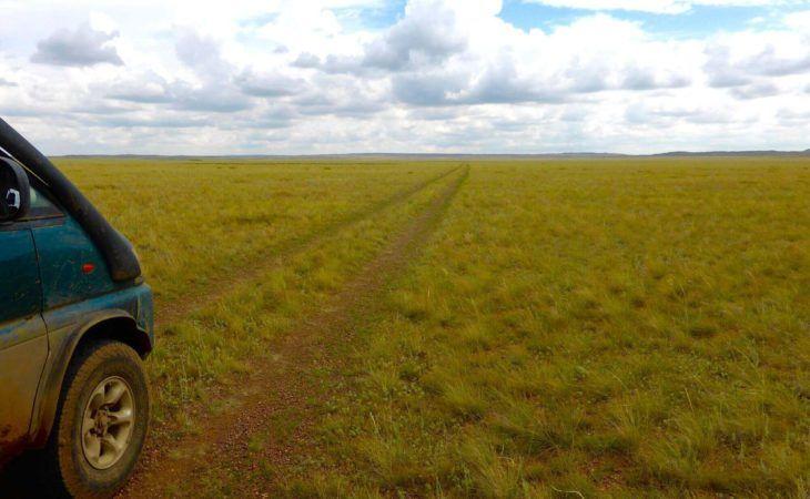 Steppes Central Kazakhstan