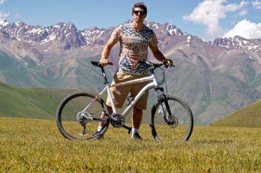 Best bike tour in Kyrgyzstan