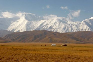 Pamir-Alay mountain pastures in Kyrgyzstan travel central asia