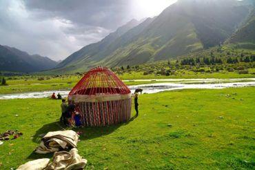 Buidin yurt Kyrgyzstan