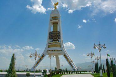 Ashgabat Neutrality Monument - Turkmenistan