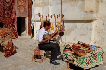 Musician silk road heritage - Uzbekistan
