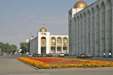 Main Chuy street Bishkek