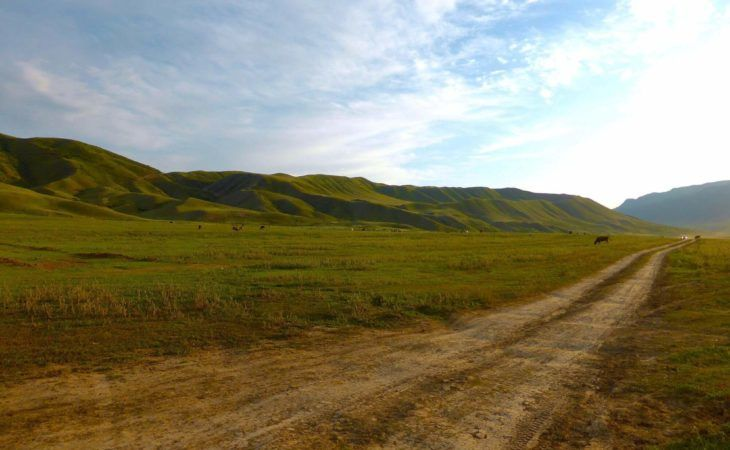 Almaty Region Backroad-Kazakhstan, central asia