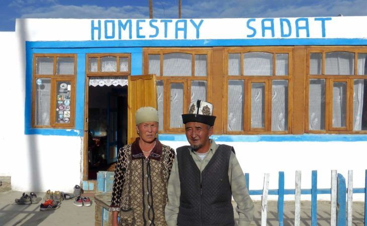 Homestay -hotel- Karakul-tajikistan tourism run by locals