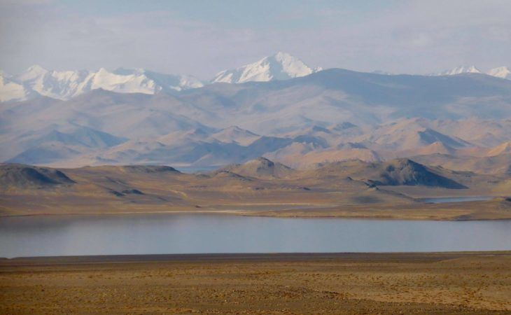 Karakul lake, Tajikistan has one of the highest regata competitions in the world