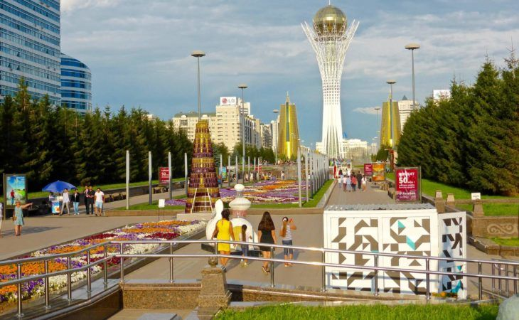 capitals of Central Asia Tour includes Astana, the capital of Kazakhstan