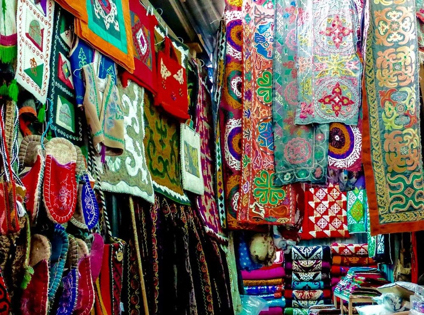 Central Asia, souvenirs, ornaments
