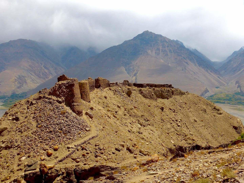 Ancient fortress Yamchun, Tajikistan Travel