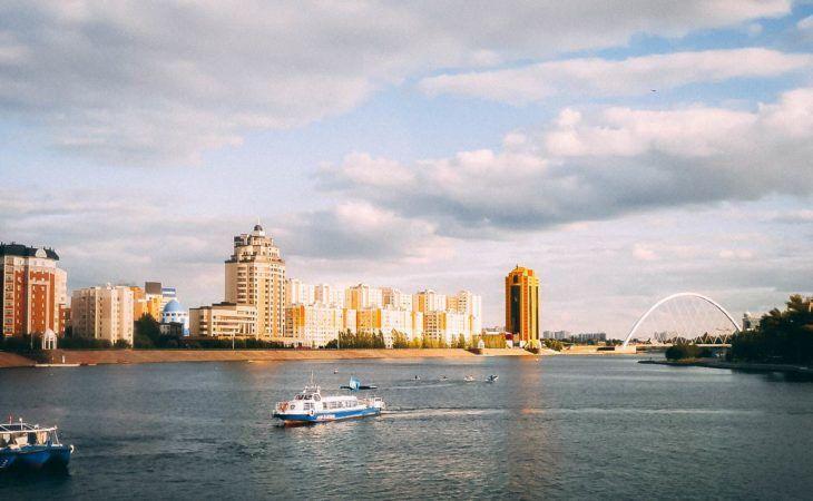Astana River, Ishim
