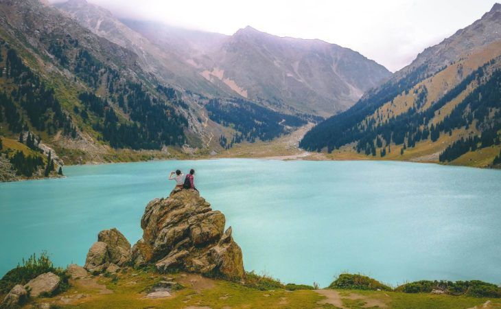 Kazakhstan Travel highlights, big Almaty lake