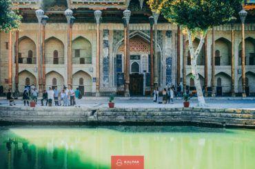 Uzbekistan travel, Bukhara, lyabi hauz