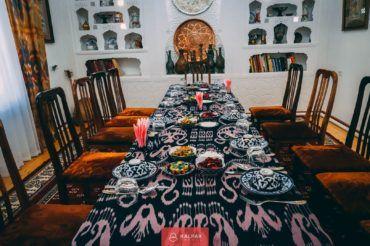 Uzbekistan cuisine, restaurant