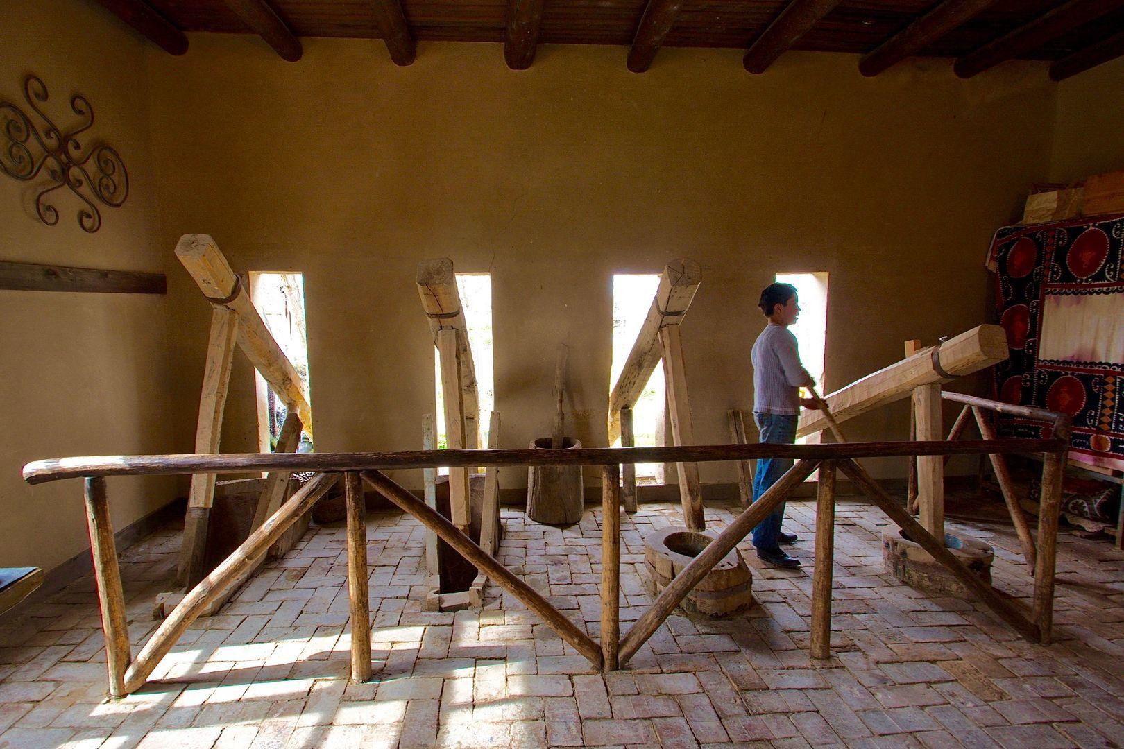 Koni Ghil, Samarkand Paper Factory, Uzbekistan Tour