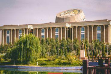 Dushanbe history museum, Tajikistan