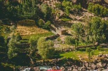 Fann mountains, village, Tajikistan