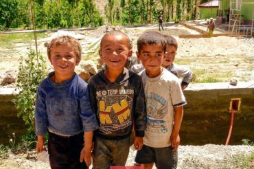 Fann Mountains children
