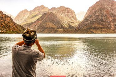 Tajikistan group Tour, Iskander Kul