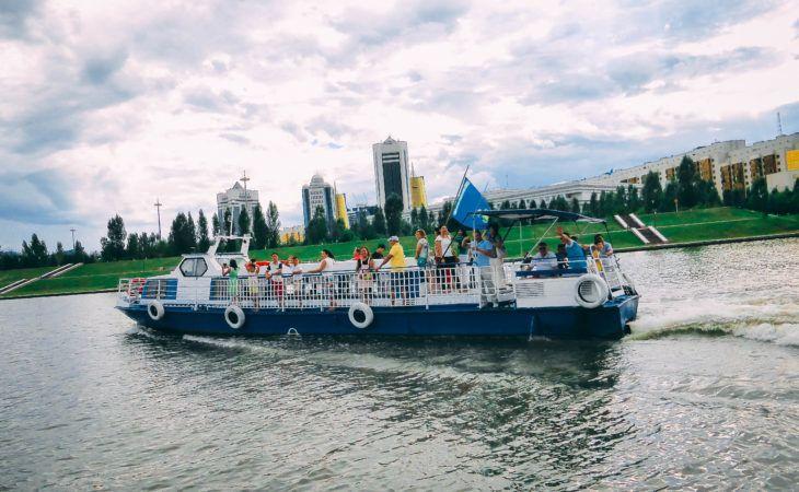Kazakhstan, Astana river