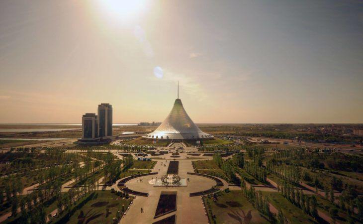 Khan Shatyr in Astana during Kazakhstan Travel Information & Tours
