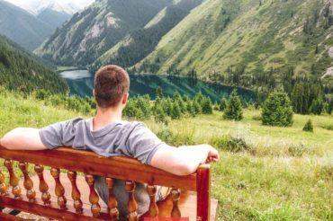 Kolsay lake, Kazakhstan