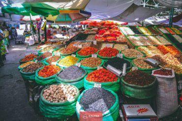 Kyrgyzstan bazaar tour