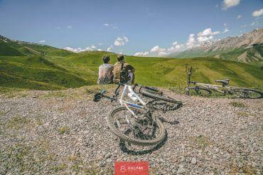 Kyrgyzstan bike tour