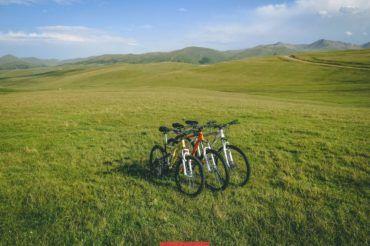Kyrgyzstan biking