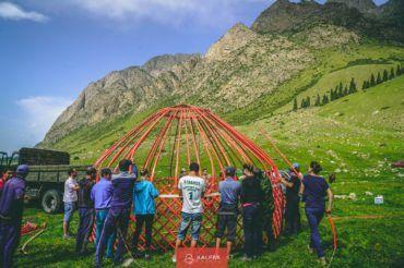 Kyrgzystan group tour