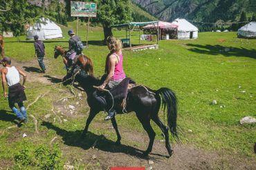 Kyrgyzstan horse-riding tour