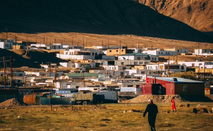 Mughrab city tour, Tajikistan