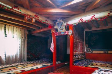 Pamiri house in Tajikistan