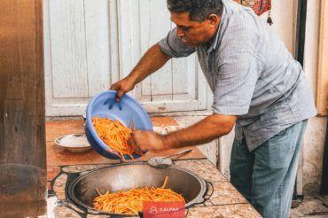 Uzbek plov cooking, cuisine
