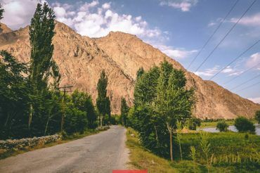 Pamir Highway, Rushan village