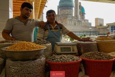 Uzbekistan bazaar, market