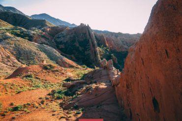 Skazka Canyon, Kyrgyztan